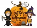 Happy Halloween with Kids ornament