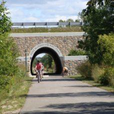 Rail-Trail tunnel