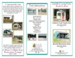 preview image of first page Rustic Cabin Rental Brochure