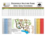 preview image of first page Disc Golf Scorecard