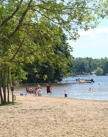 Coldwater Lake Beach Area