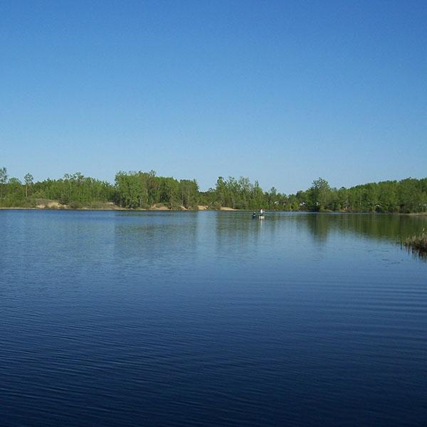 Herrick park pond