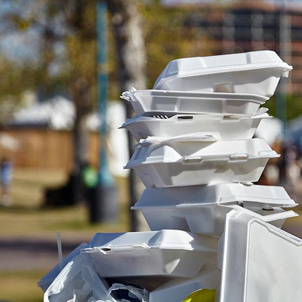 recycle styrofoam
