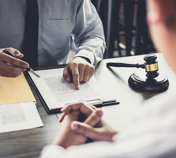 meeting with attorney for legal advice