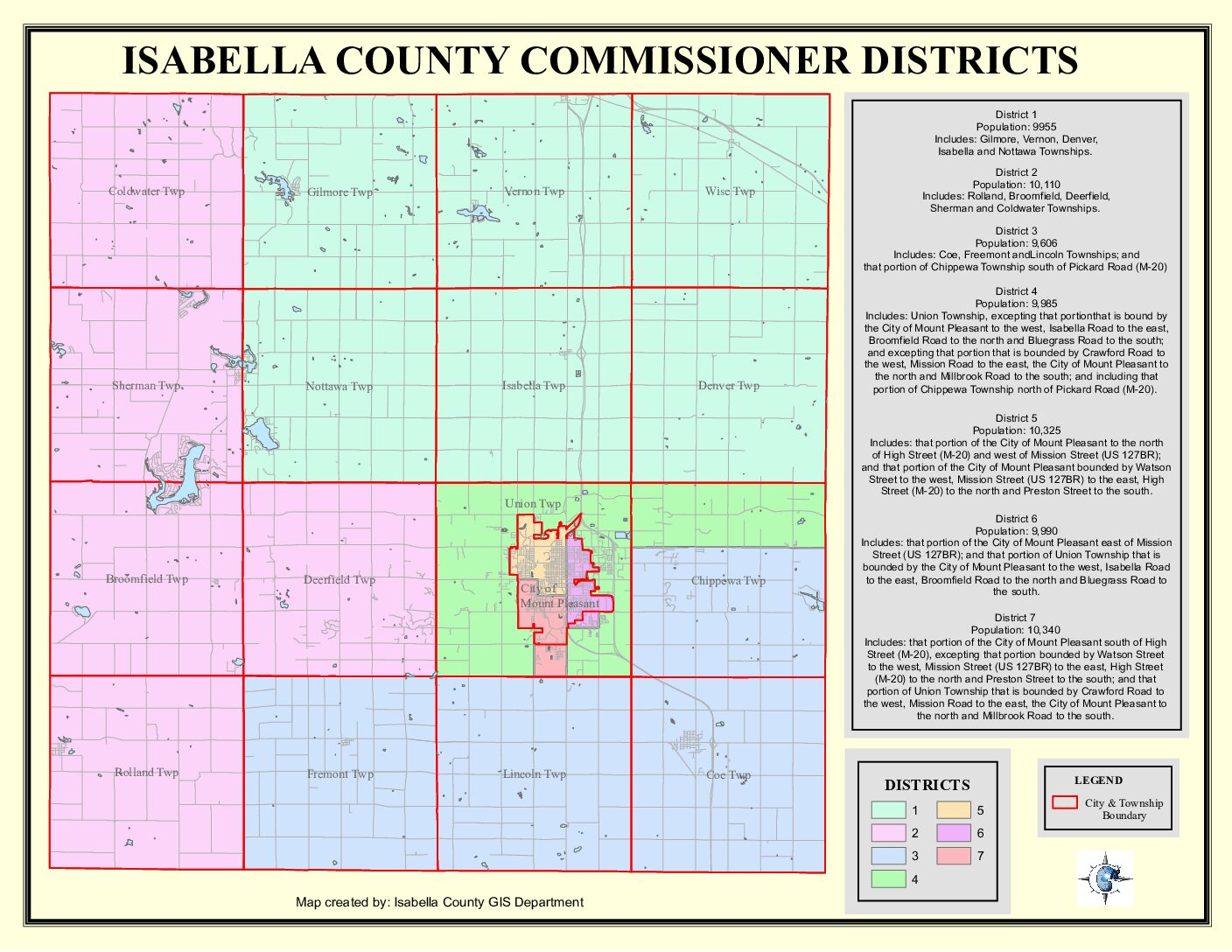 preview image of first page Commissioner Districts