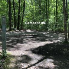 Deerfield Campsite #6