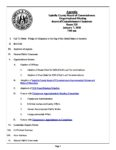 preview image of first page January 7, 2020 Organizational Meeting Agenda