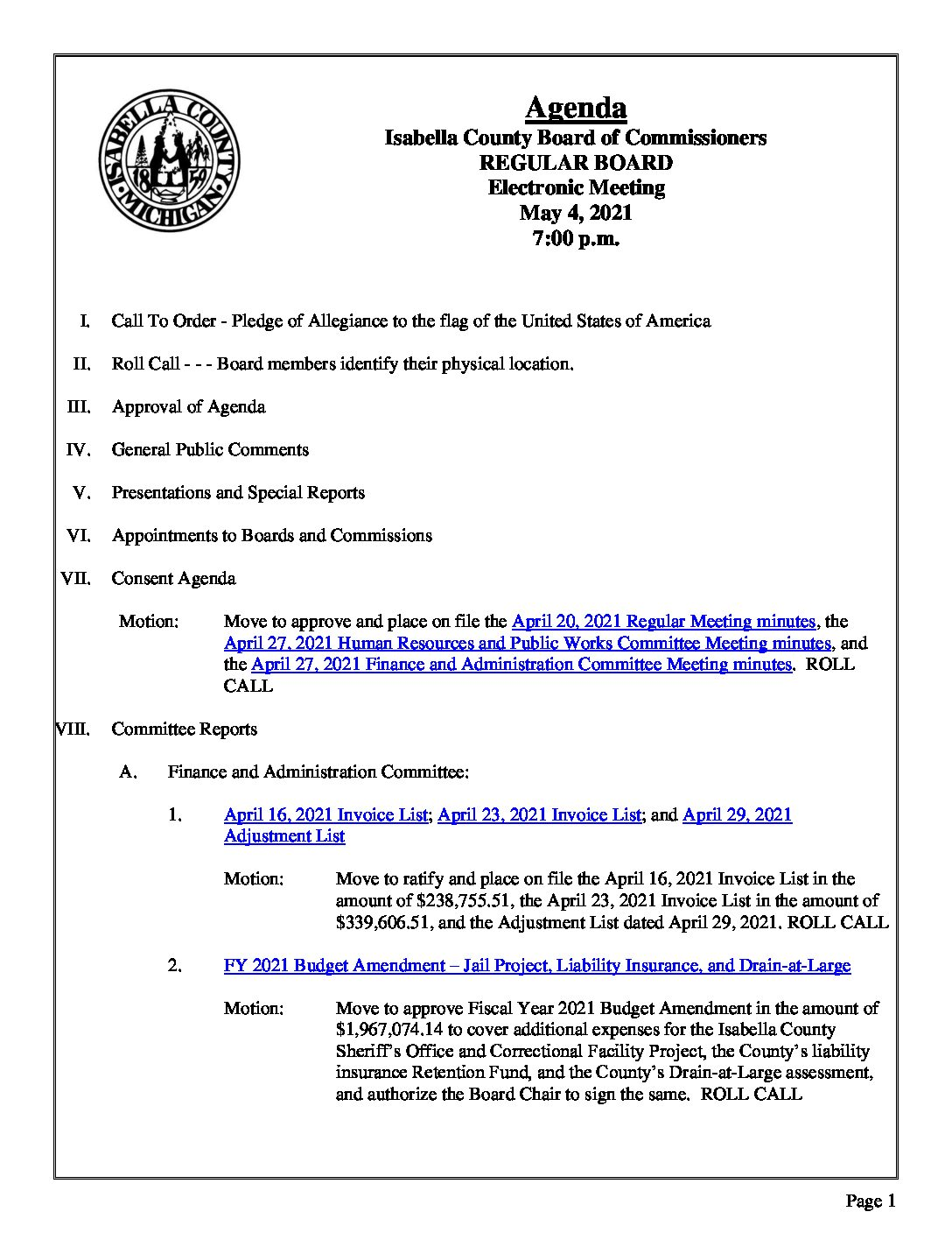 preview image of first page May 4, 2021 Agenda