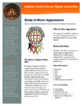 preview image of first page Study of Microagressions Against Tribal Members in Isabella County – Fact Sheet