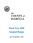 preview image of first page Fiscal Year 2020 Adopted Budget