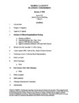 preview image of first page January 9, 2020 Agenda