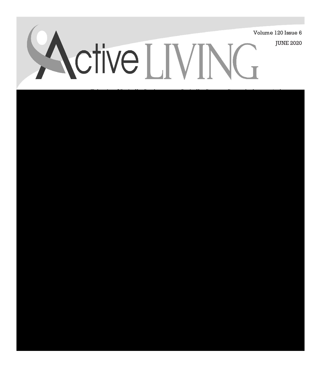 preview image of first page June Active Living