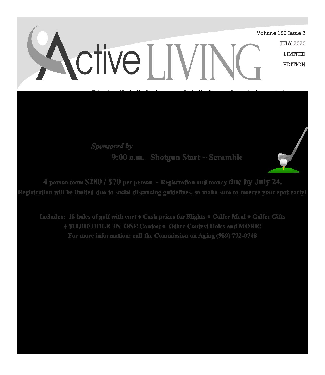 preview image of first page July Active Living