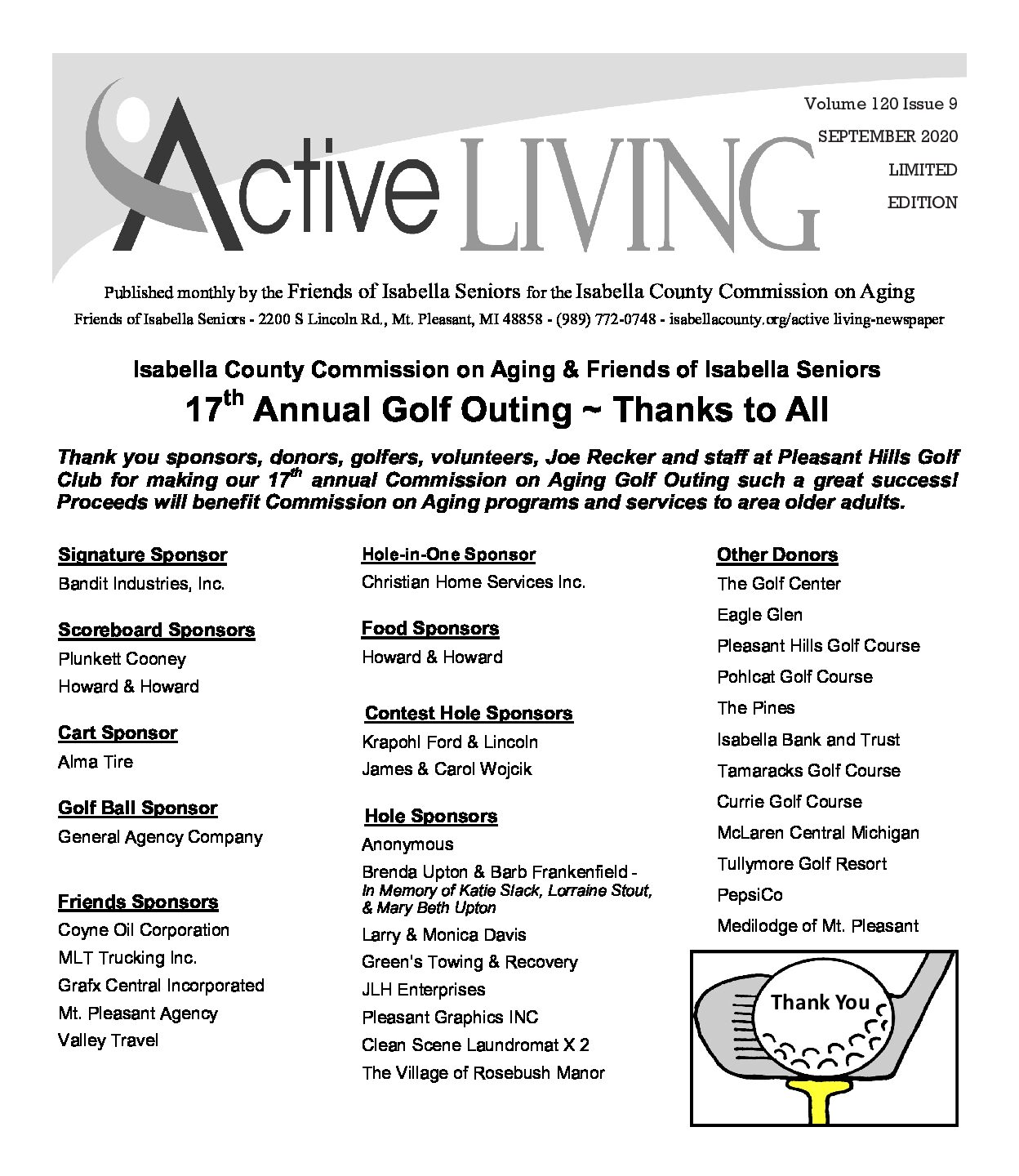 preview image of first page September Active Living