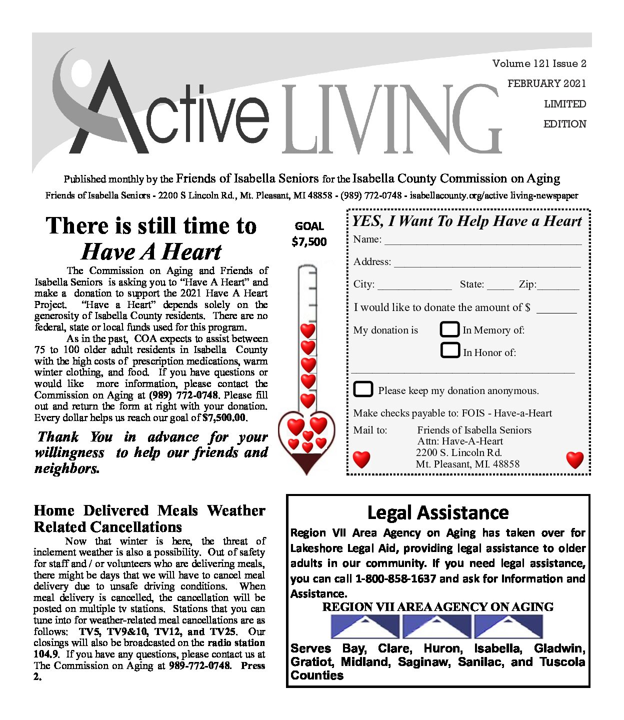 preview image of first page February 2021 Active Living