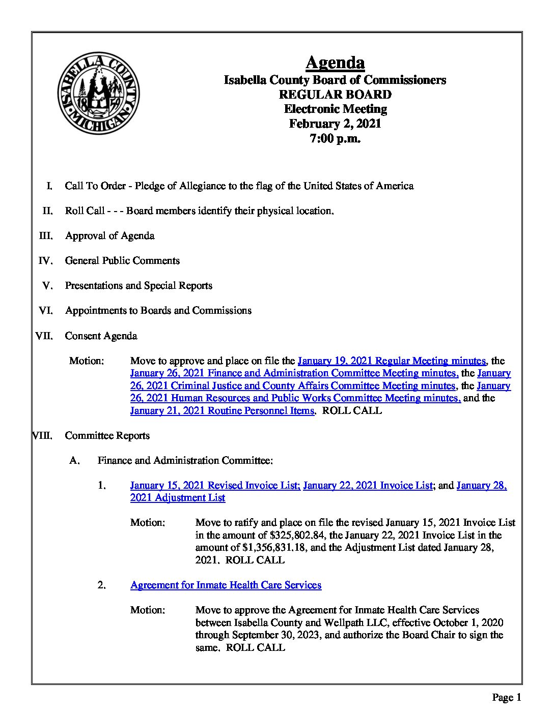 preview image of first page February 2, 2021 Agenda