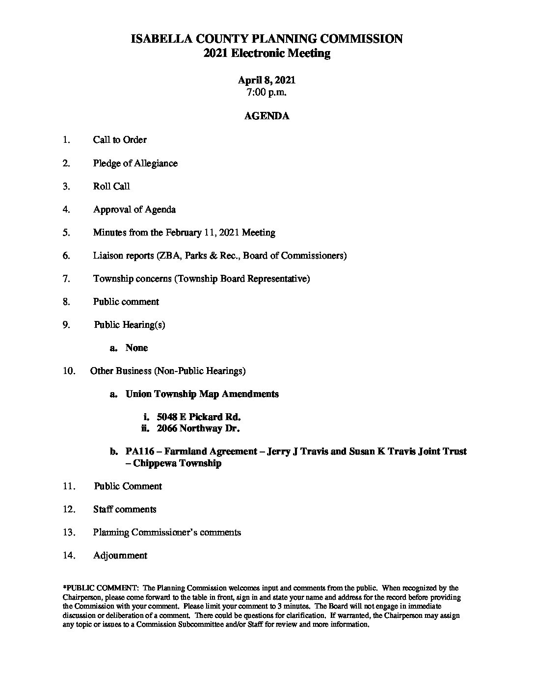 preview image of first page April 8, 2021 Agenda
