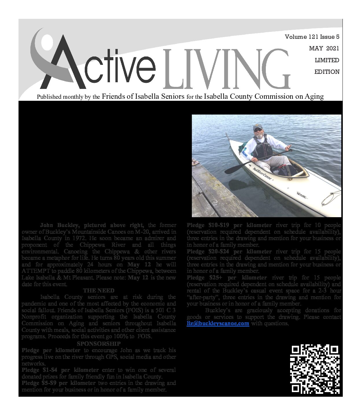 preview image of first page May 2021 Active Living
