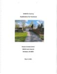 preview image of first page Variance #21-02 – Wayne and Sandra Corrion – Nottawa Township