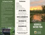 preview image of first page Deerfield Nature Park Brochure