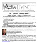 preview image of first page October 2021 Active Living