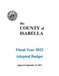 preview image of first page Fiscal Year 2022 Adopted Budget
