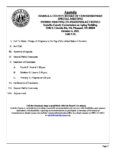 preview image of first page October 06, 2021 Special Meeting Agenda